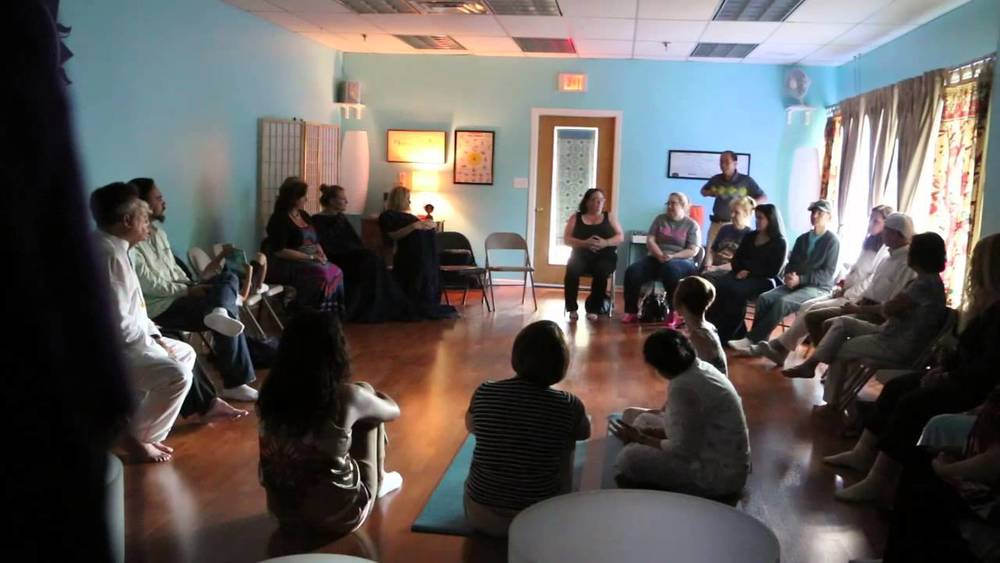 A Systemic Family Constellations group workshop circle