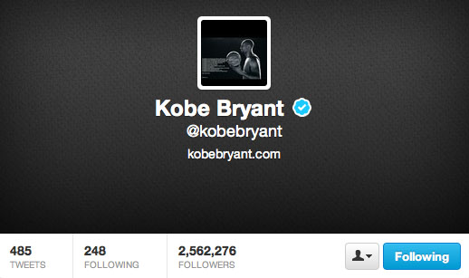 Kobe used this image as his avatar for a while.