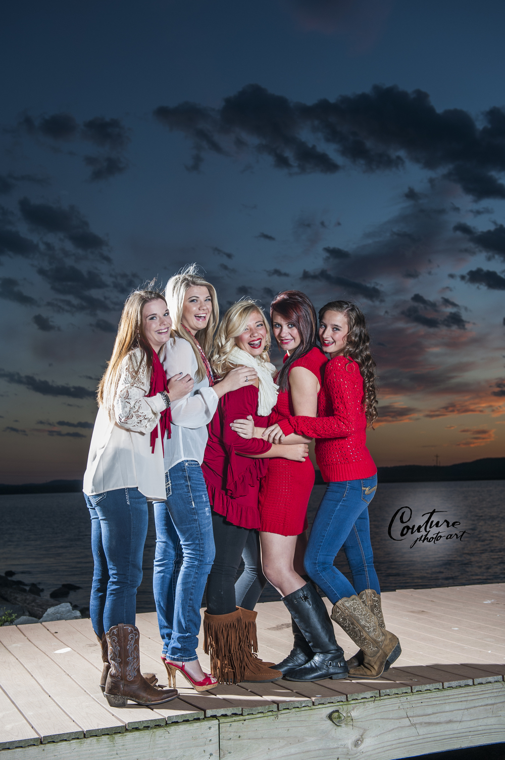 Pictured from Left to Right: Zena, Hope, Myranda, Madison, and Brittany.