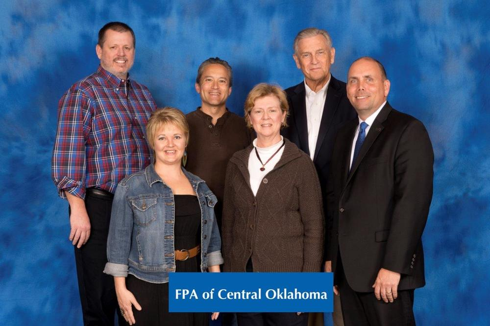Grateful for the opportunity to send 5 from our board to the FPA Chapter Leaders Conference in November 2015 in Broomfield, CO.  Top Left to right: Jeff Ashford, CFP®  Sponsorship Director, Jeff Yamada, CFP® 2015 Chapter President, John Clement, CFP® 2015 President Elect, 2015  Bottom left to right: Symphony Charles, Chapter Executive & Christi Powell, CFP® Treasurer,   FPA National President, Edward W. Gjertsen II, CFP  ®