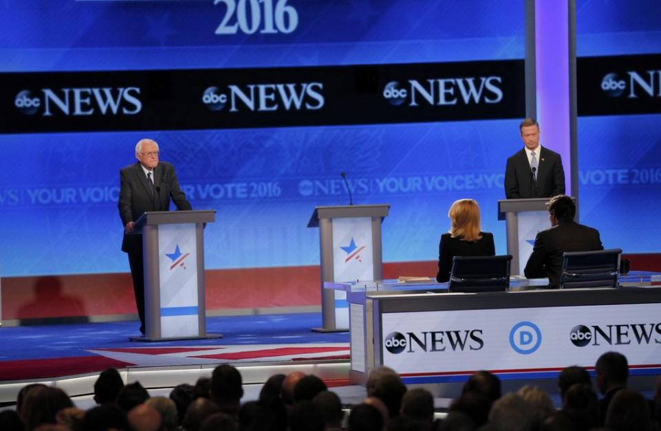 ABC News hosts the third Democratic Party debate for the 2016 primary season. 12/19/15  Richard Ehrenberg - Technical Director