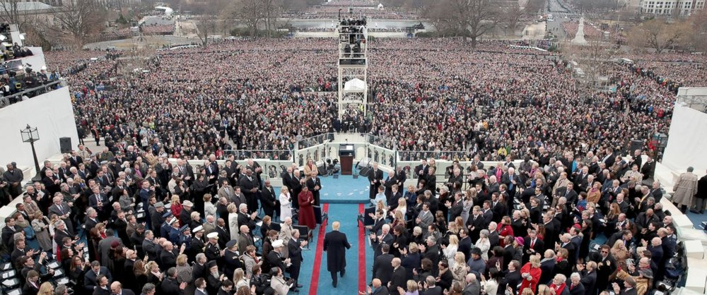 The Inauguration Of Donald J. Trump - ABC NEWS, Richard Ehrenberg Lead Technical Director.