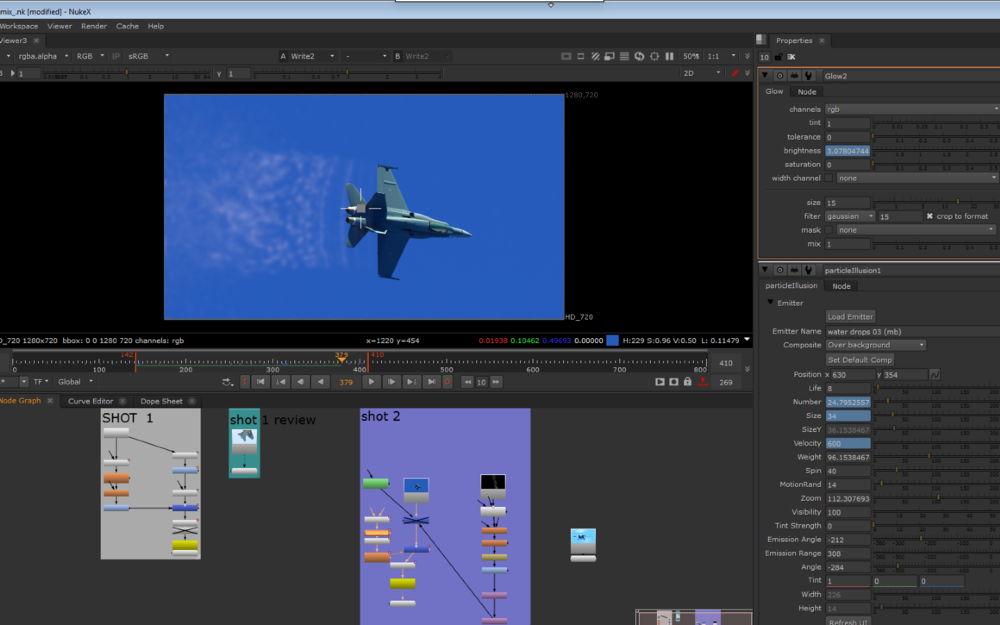 CF-18 Hornet ANimation and compositing