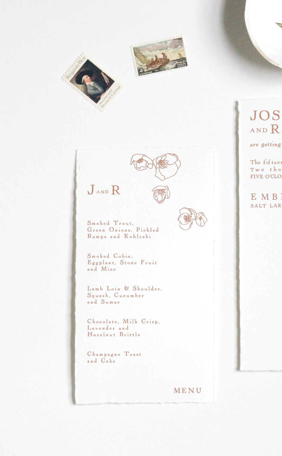 ANTIQUE QUINCE MENU