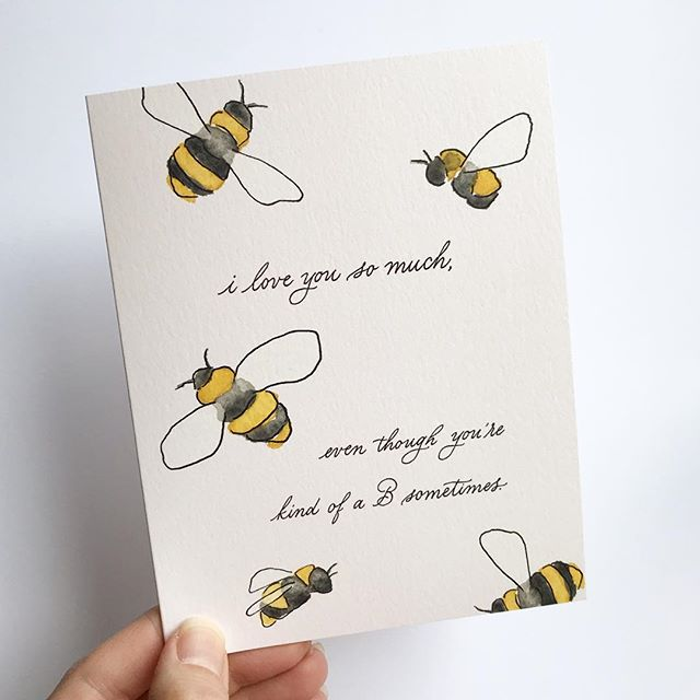 Who's your 🐝? ...or is it you? 😏 We've got cards for that, too.