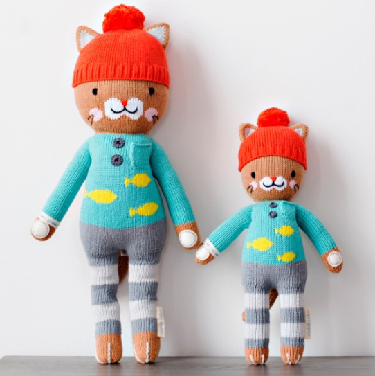 Cuddle + Kind Dolls  - Every doll sold donates 10 meals to children in need.