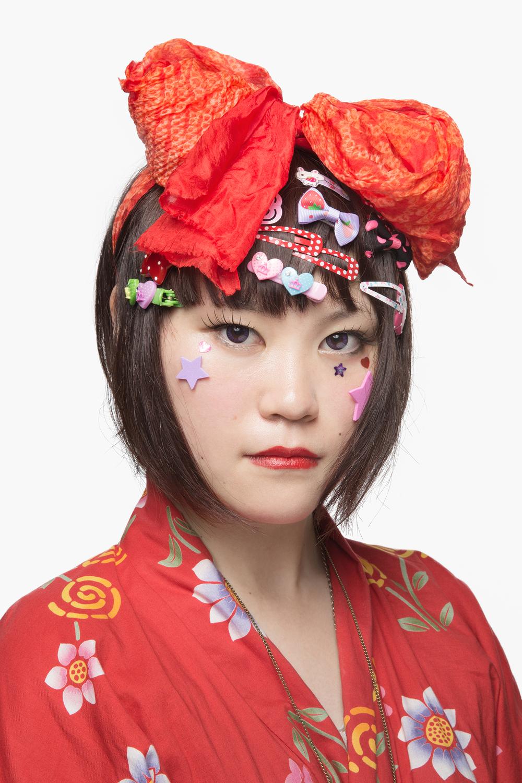 Decora girl, Tokyo, Japan.