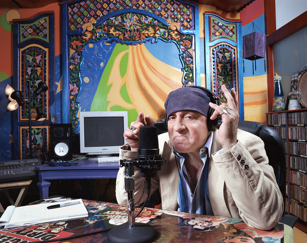 Steve Van Zandt, Aka Little Steven, Musician, actor, and Sirus Radio personality. For The Word Magazine.
