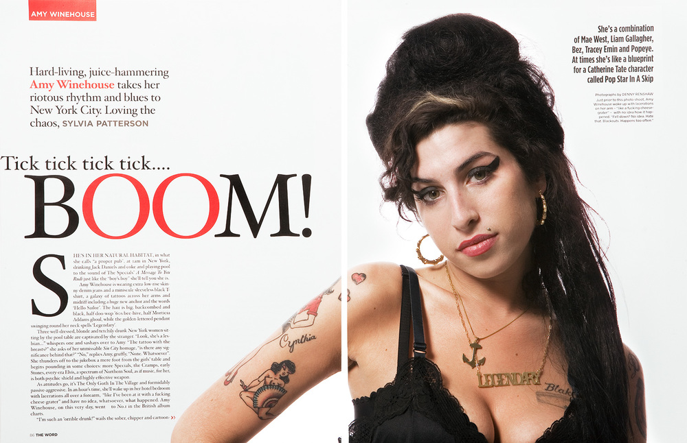 Amy Winehouse, The Word Magazine.