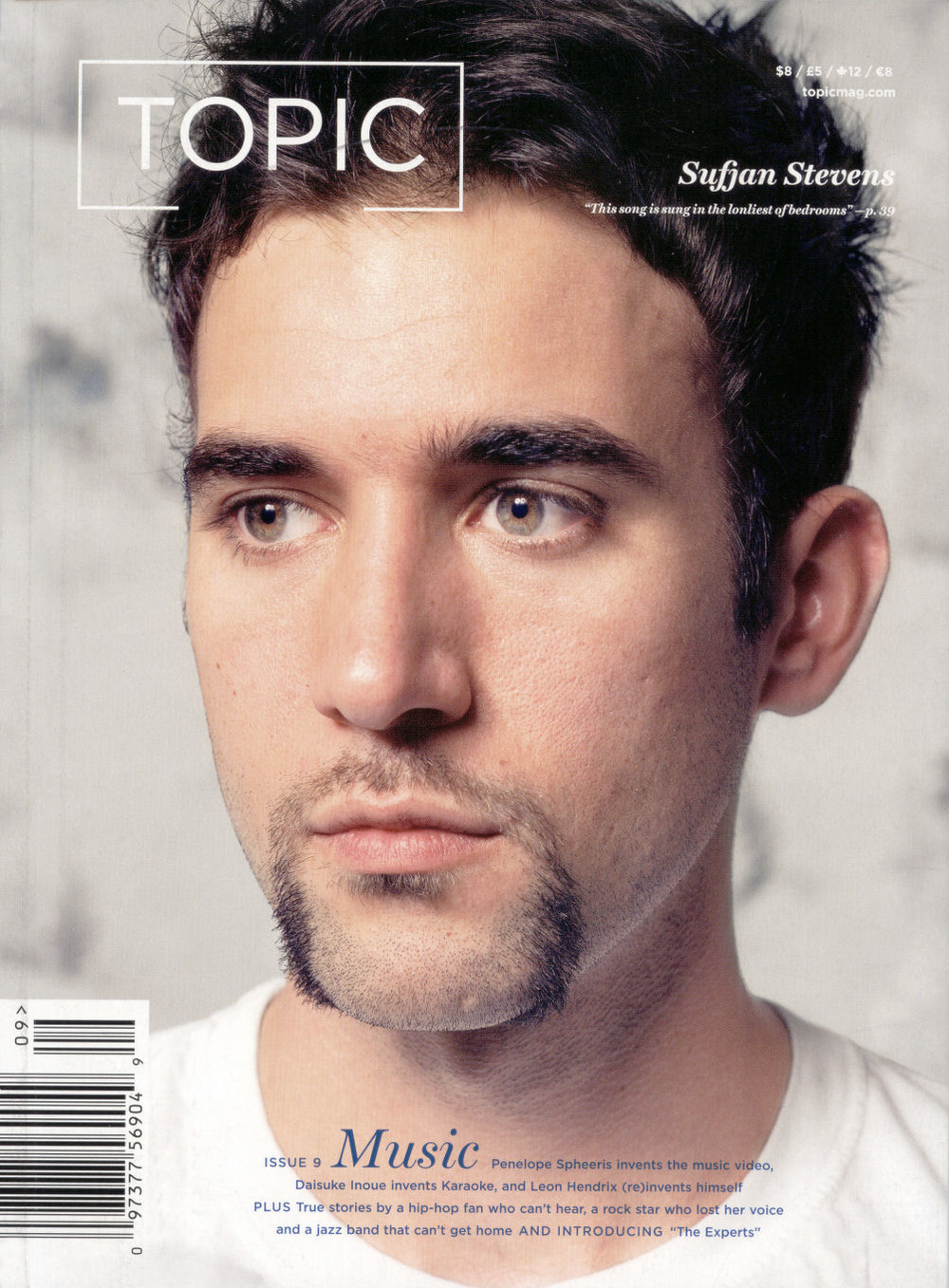 Sufjan Stevens, Topic Magazine.