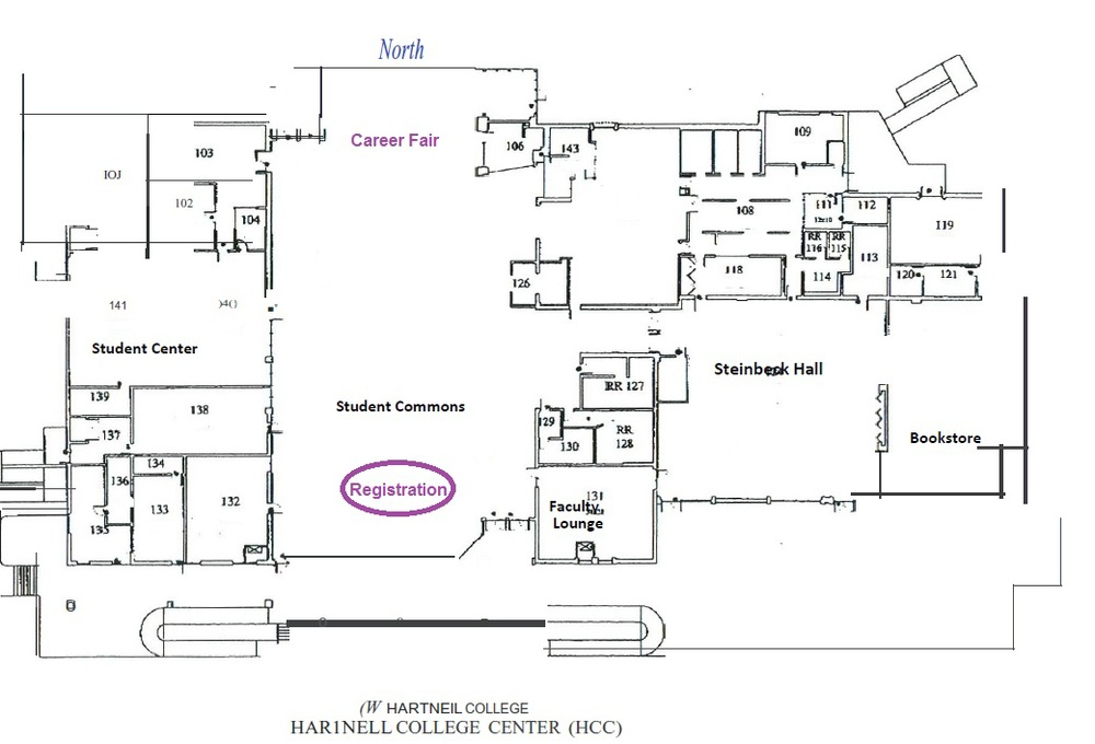 Download Student Center map here