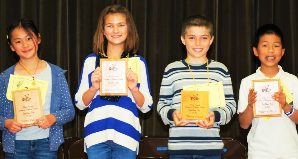 Lyceum Spelling Bee Winners