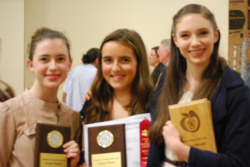 Lyceum History Day County Winners