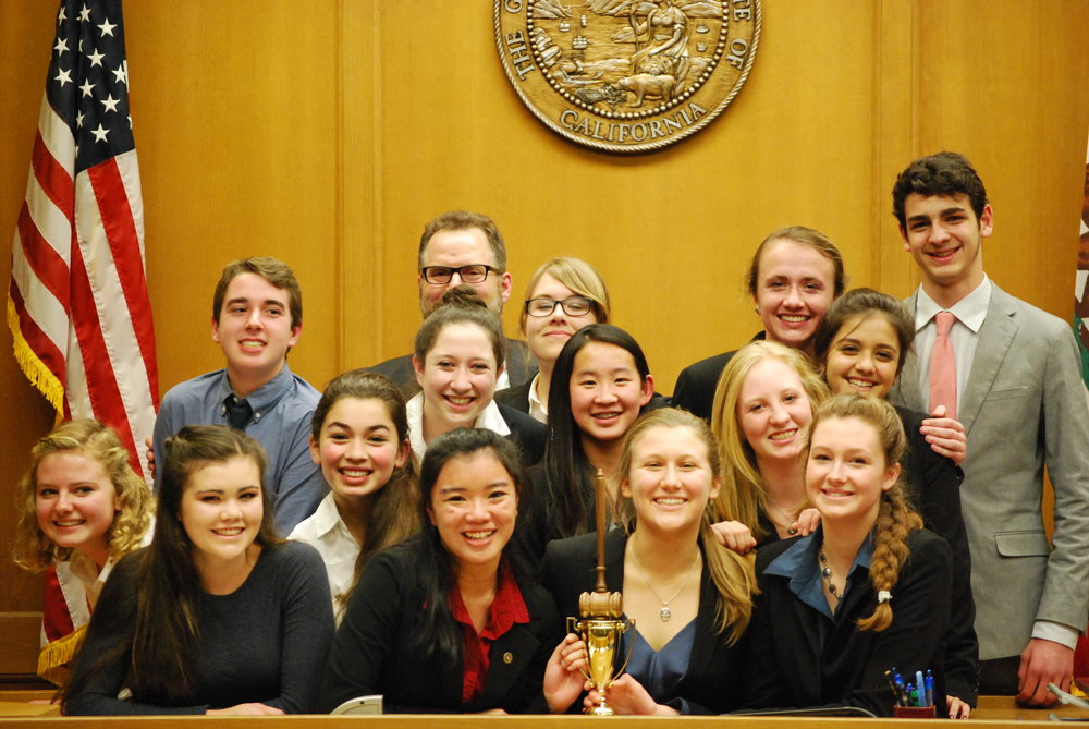 Remember these faces?  This is Carmel High School's Mock Trial team, who won the Lyceum's competition at the beginning of this year.  Click the photo to read (and listen!) about that time.