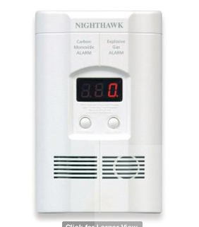 Kiddie Carbon Monoxide/Gas Alarm