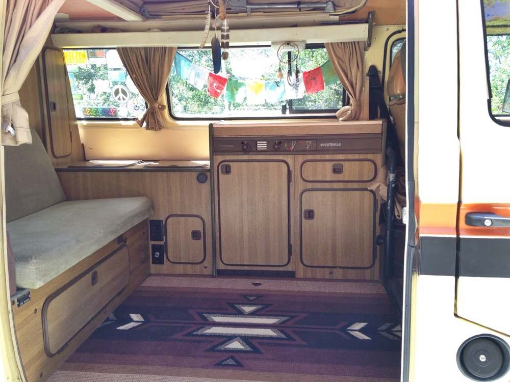 Kenz hawk in a vw camper tiny house tiny footprint - The mobile little house the shortest way to freedom ...
