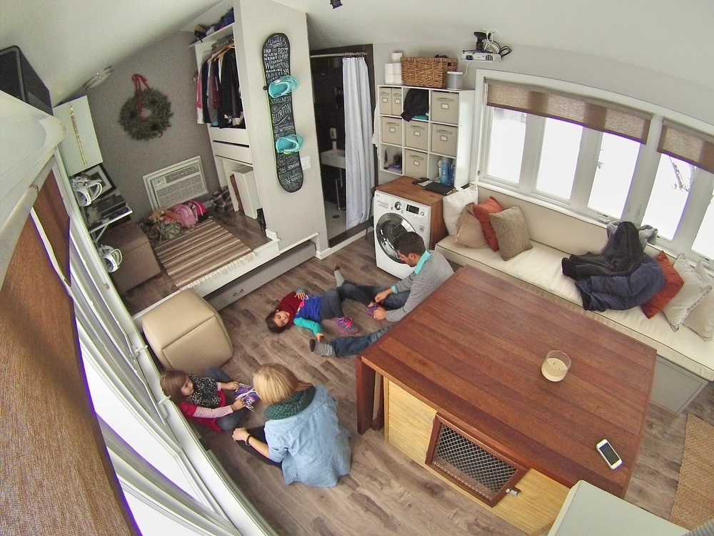 Shannon Tim in a Tiny House Tiny House Tiny Footprint