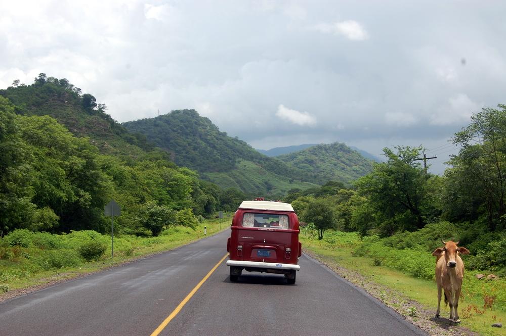 The empty highways of Nicaragua