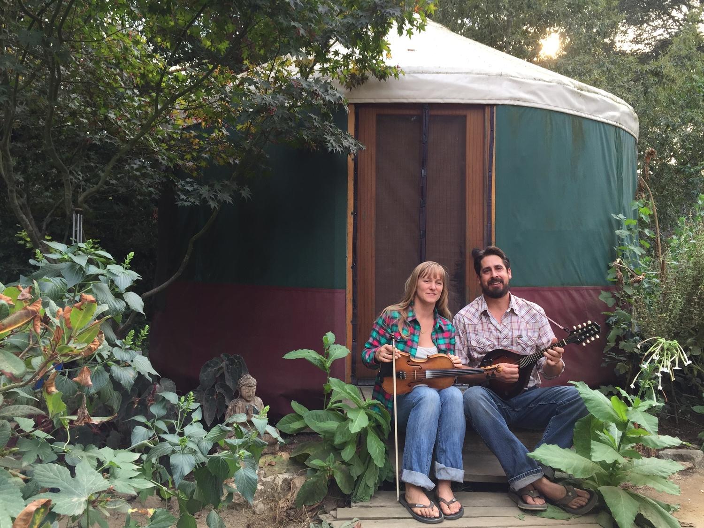 becky u0026 todd in a yurt u2014 tiny house tiny footprint