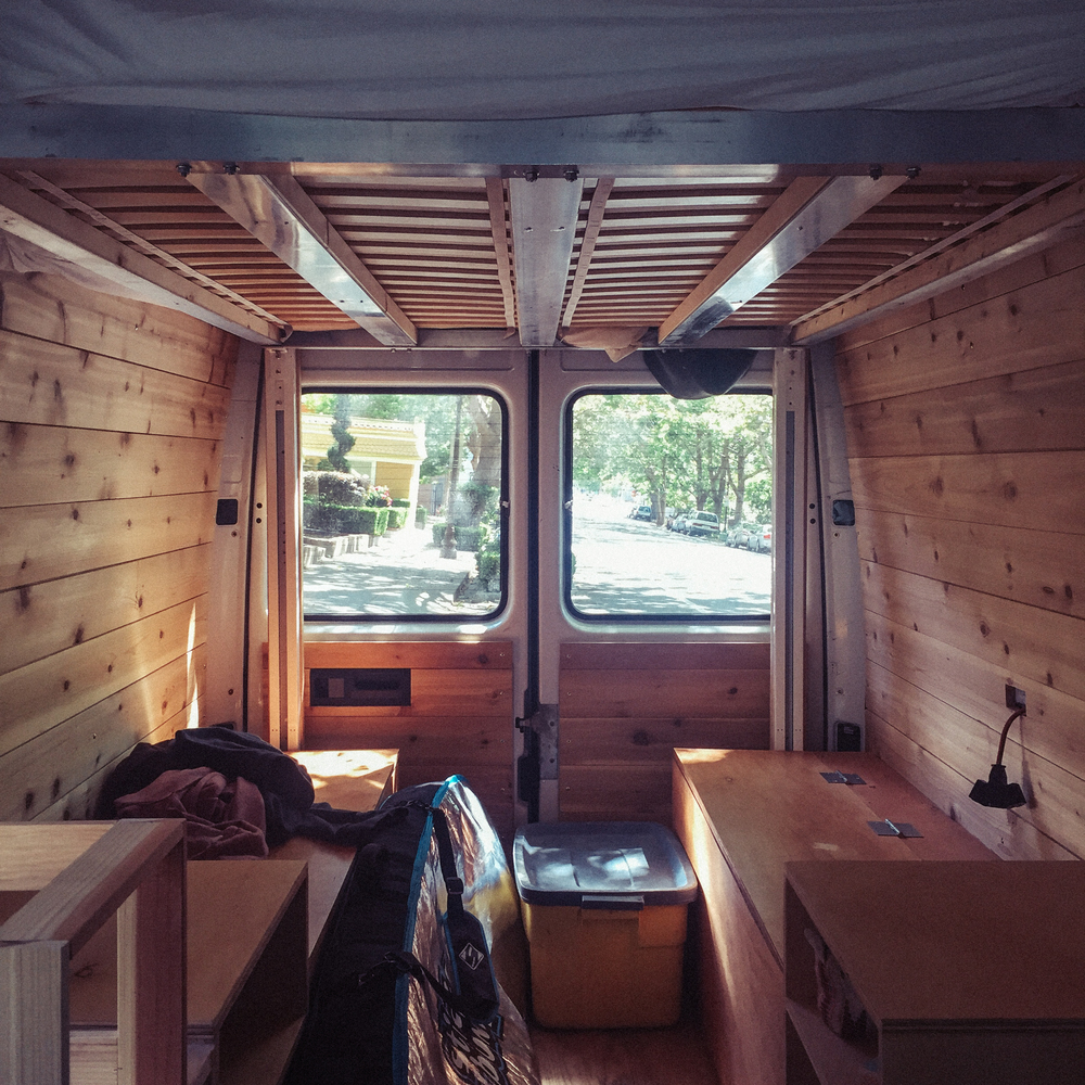 Guest Post Converting A Sprinter Van Into Tiny Home House Footprint