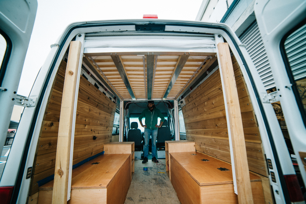 Guest Post Converting A Sprinter Van Into A Tiny Home