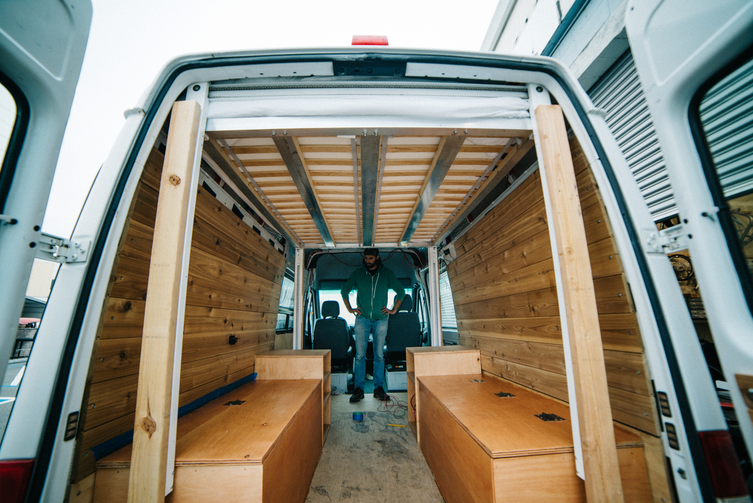 Guest Post Converting A Sprinter Van Into Tiny Home