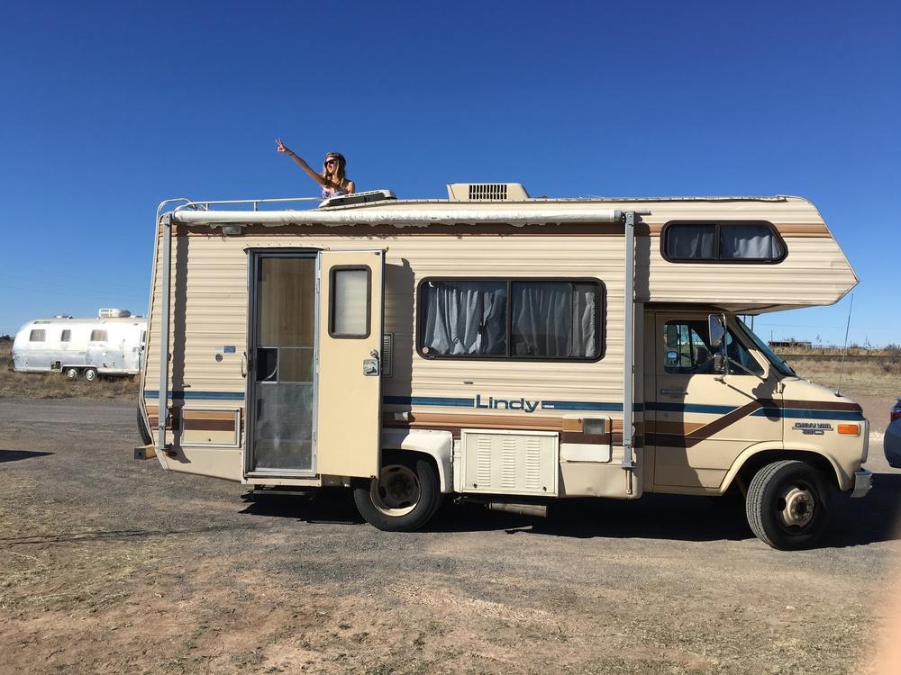 Rachel in a Chevy RV — Tiny House, Tiny Footprint