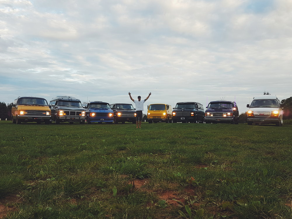 With the Dusk Til Dawn Crew, Prince Edward Island, Photo: Julien Roussin Cote