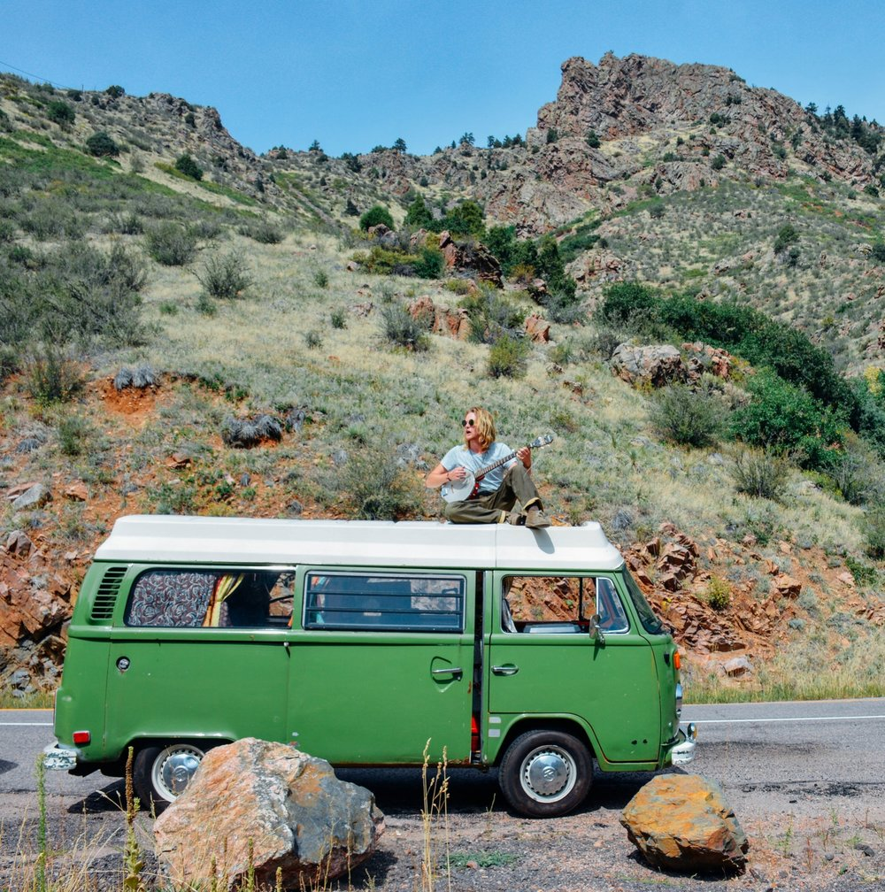 Colby's 1975 VW Riviera Bus