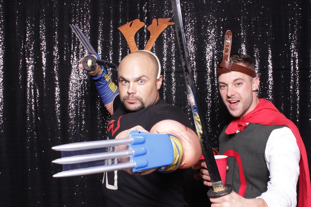 chico-california-open-air-photo-booth-rental-halloween-party-swords-props