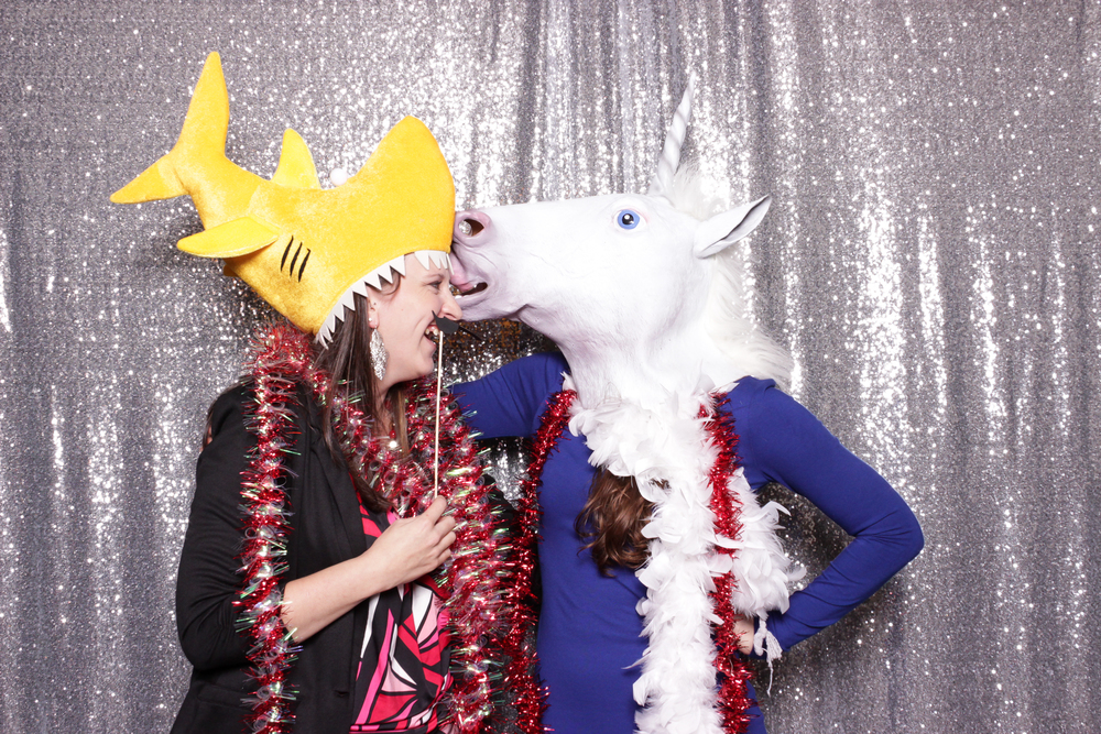Shark meets unicorn...hilarity ensues.