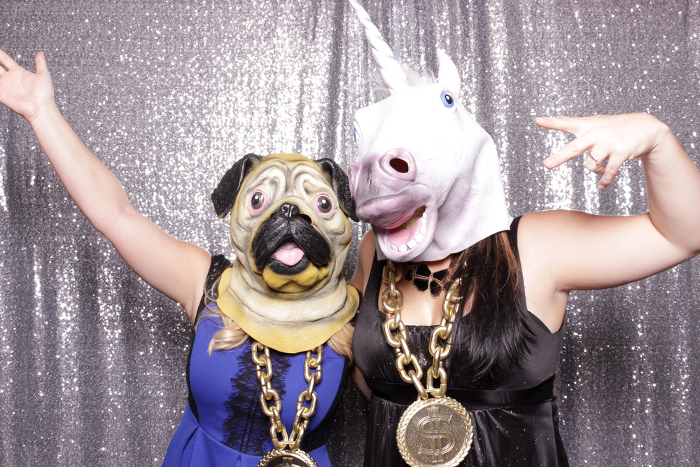 chico-california-photo-booth-rental-holiday-party-valley-oak-animal-masks