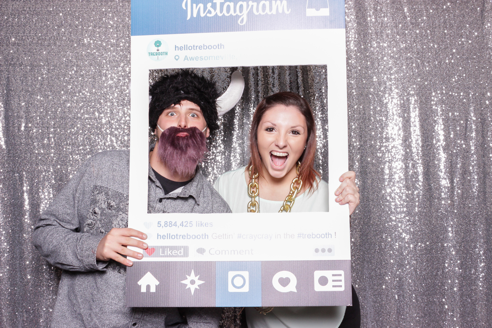 Everyone loves the Instagram photo booth prop!