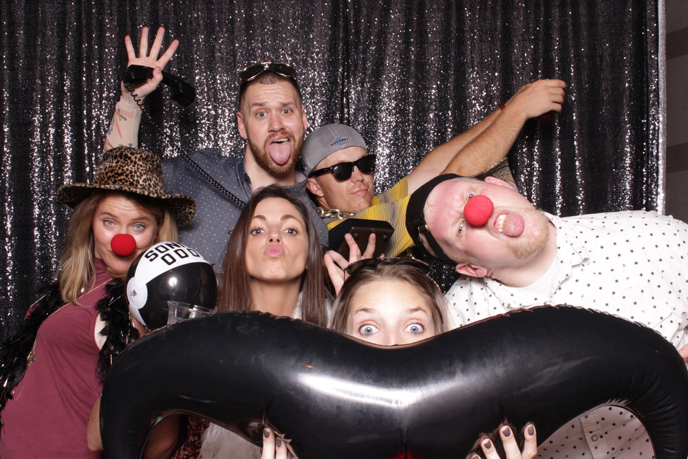 build-corporate-party-photo-booth-rental-clown