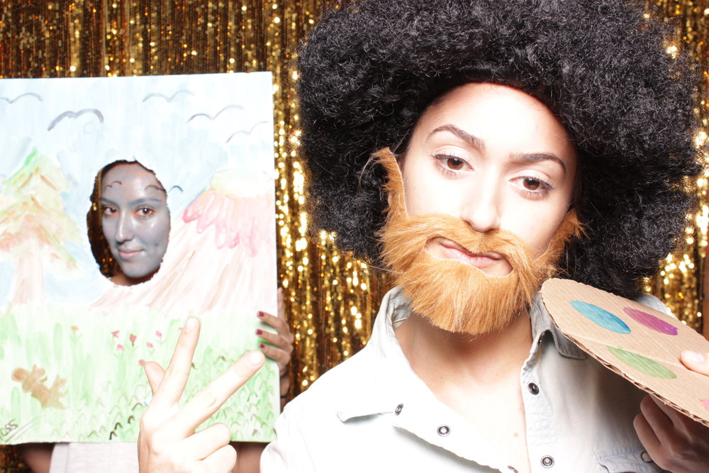 Chico-photo-booth-rental-masks-included