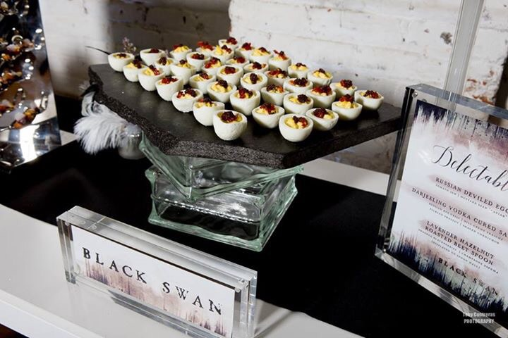 Photo by Tony Contreras, Catering by Occassions Catering, Furnishings by CORT Events, Signage by Veronica Preston Design