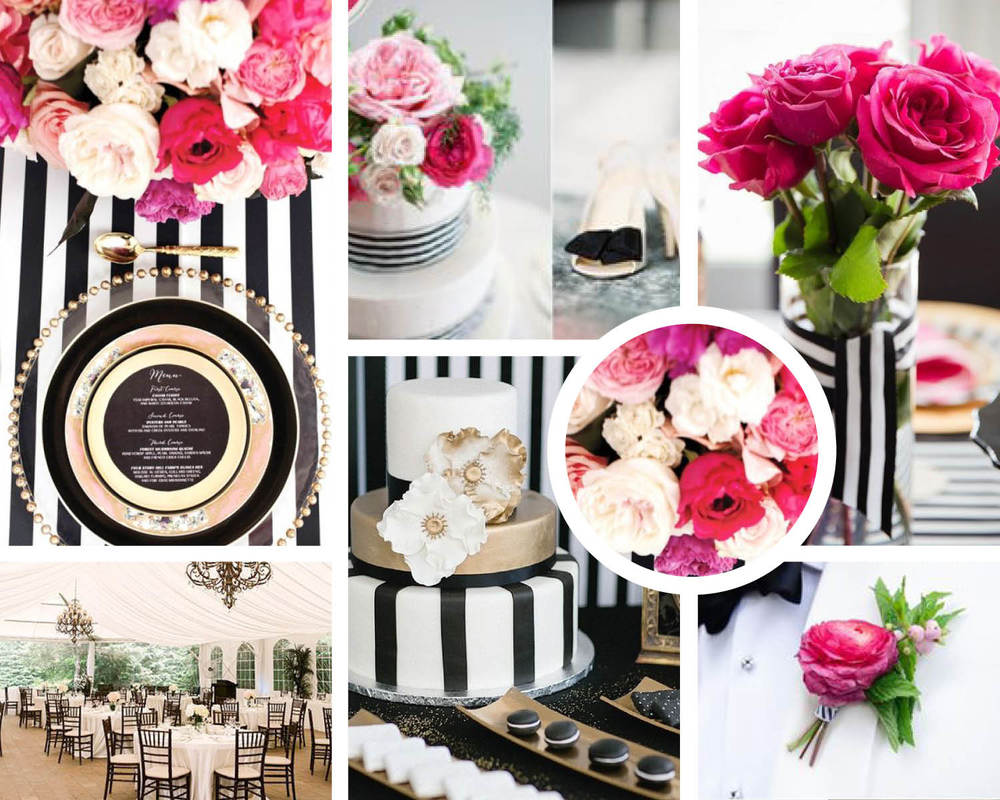 Images for moodboard are from Pinterest from various photographers, florists, cake decorators, and event designers. These are meant to show a preview of ideas!