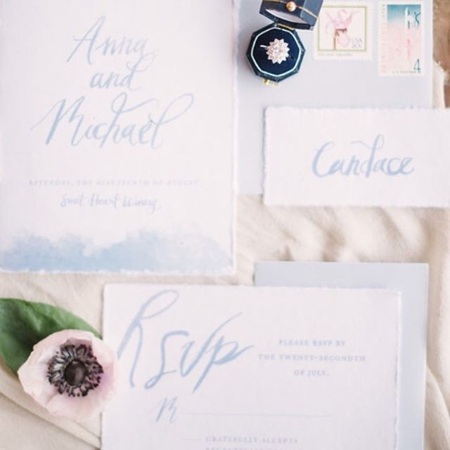 In my sweet town, we collaborated with some incredible friendors @sweetheartwinery in Loveland! This is a tiny sneak peek! More to come soon!! 😍 Can't wait to share more handwritten calligraphy and hand-painted details!! . . . Photography: @decorusfineart | Planning: @pinkdiamondco | Floral: @hanastyledesigns | Venue: @sweetheartwinery | Stationery: @veronicaprestondesign | Attire: @doragracebridal | Rentals: @rcspecialevents | Models: @batesmasta & @rikkafray | Hair & Makeup: @janierocek