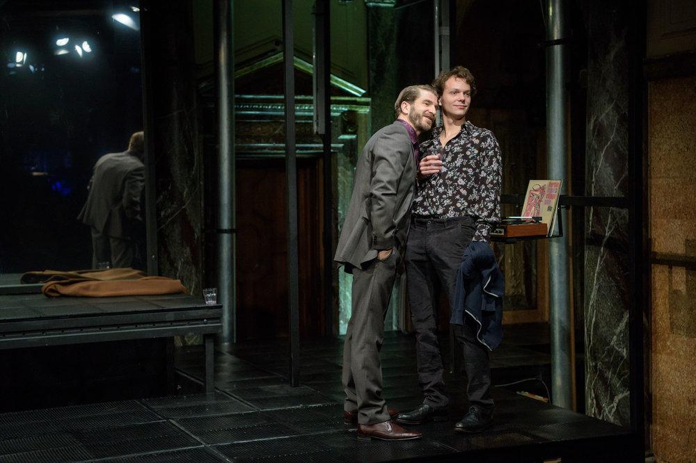 Daniel Jesch, Christoph Radakovits © Georg Soulek/Burgtheater