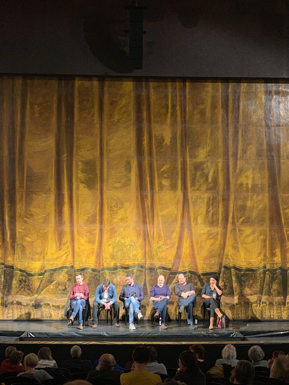 Publikumsgespräch am 2.2.2019, moderiert von Martin Thomas Pesl  ©  Catharina Kleber