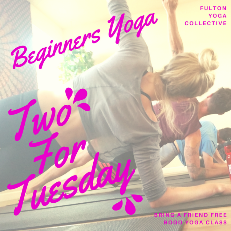 *Please note, your $10 BOGO ticket is good for one class for two people. BOGO passes cannot be redeemed in separate classes.