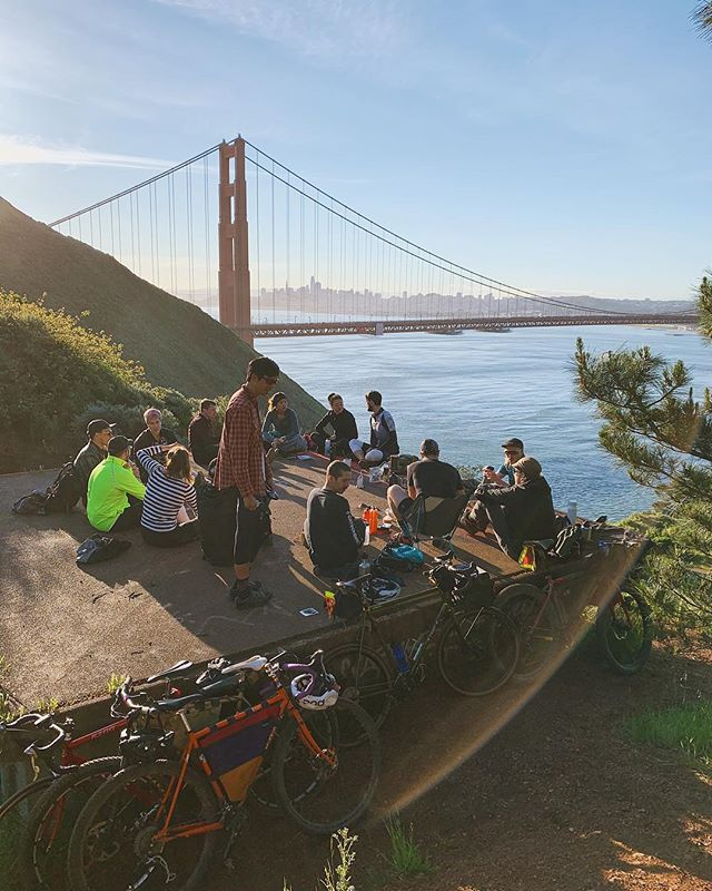 Should be another glorious morning tomorrow at #CoffeeOutsideSF! . Kick off the weekend with a hot cup of @latigocoffee and these dang views. . Bring a cup and some water if you want coffee, camp stove and brewer if you got them, and snacks to share are always welcome! . 645am at GG Bridge Plaza 7-8(ish) at Battery Wagner . I'll be rolling from the Mission around 6 if anyone wants to link on the way! All are welcome! HMU if you need anything.