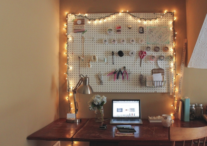 To see more of my workspace, go to this post.