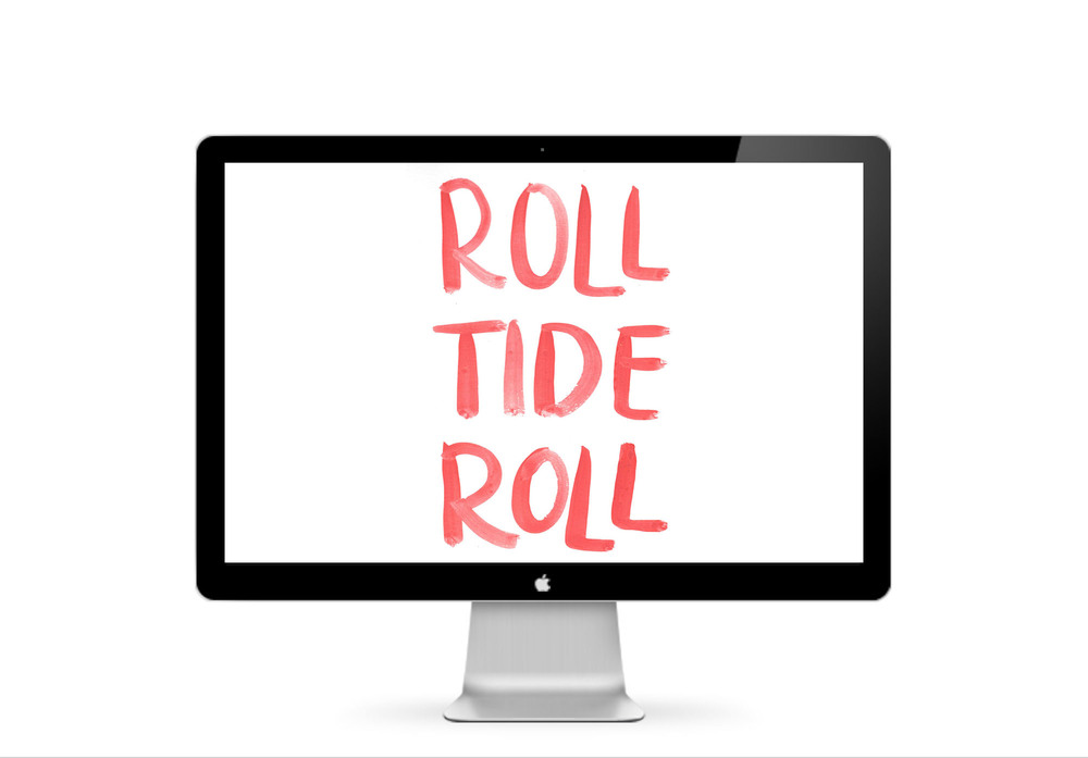 Roll Tide Roll  :: click here to download desktop wallpaper ::