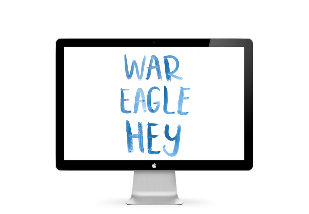 War Eagle Hey :: click here to download desktop wallpaper ::