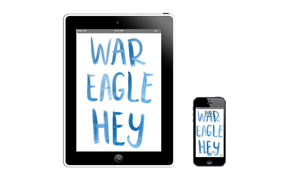 War Eagle Hey :: click here to download tablet wallpaper :: :: click here to download phone wallpaper ::