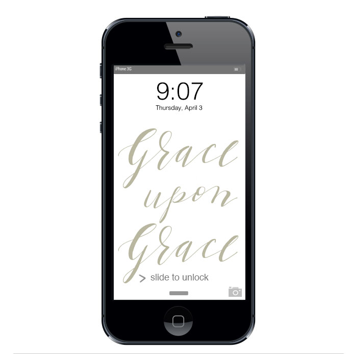 Grace upon Grace :: click here to download phone wallpaper ::