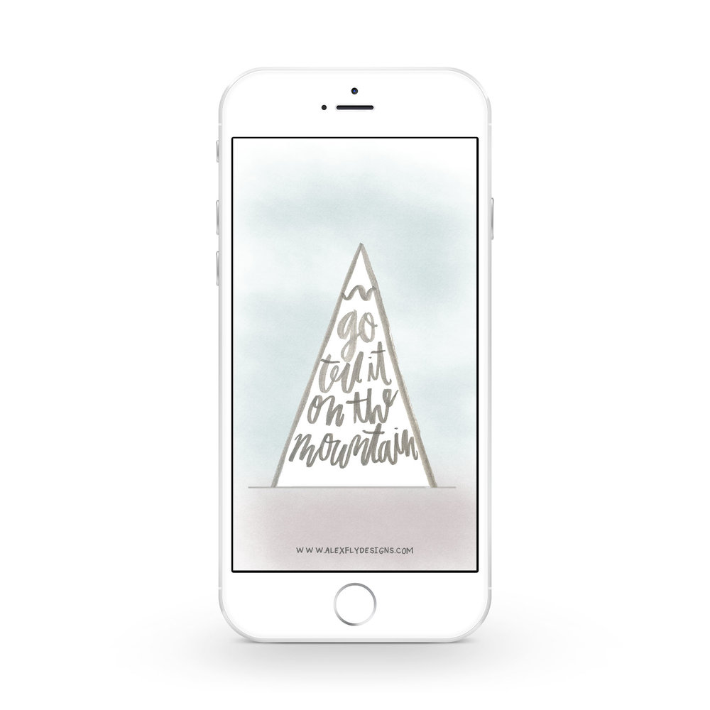 Go Tell It On The Mountain :: click here to download phone wallpaper ::