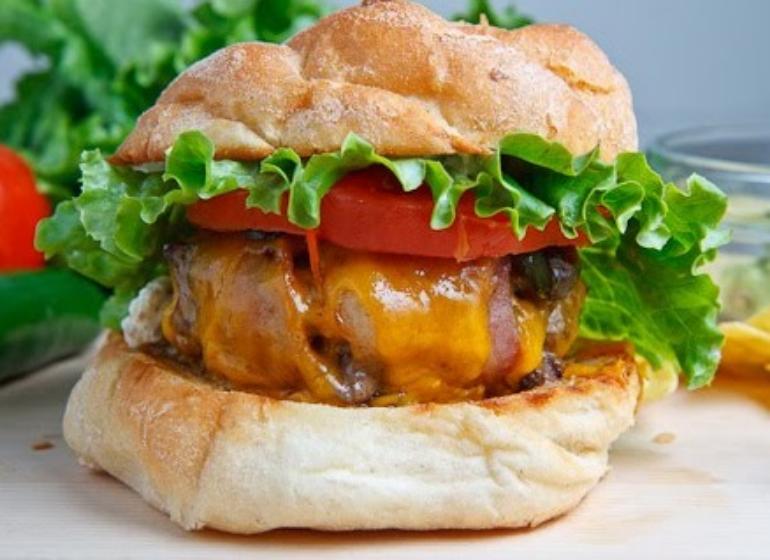 Cheddar Turkey Burgers