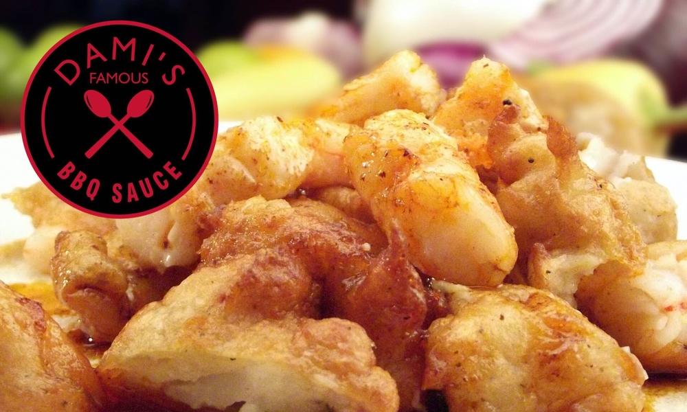 Honey BBQ Fried Shrimp